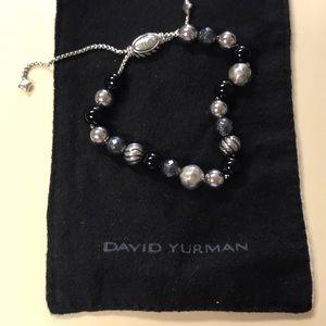 David Yurman Onyx braclet